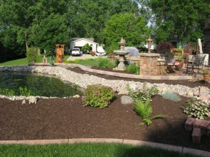 Spartan Landscaping Backyard Oasis Project