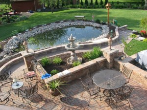 Spartan Landscaping Backyard Oasis