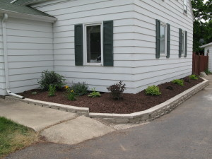 Landscaping Upgrade: Barrier Plants, Edging, AFTER