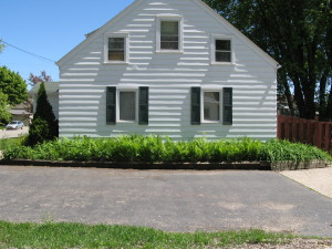 Landscaping Upgrade: Barrier Plants, Edging, BEFORE