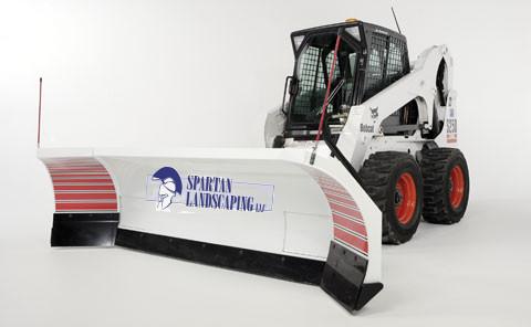 bobcat plow spartan landscaping