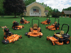 spartan landscaping equipment established mowers scag